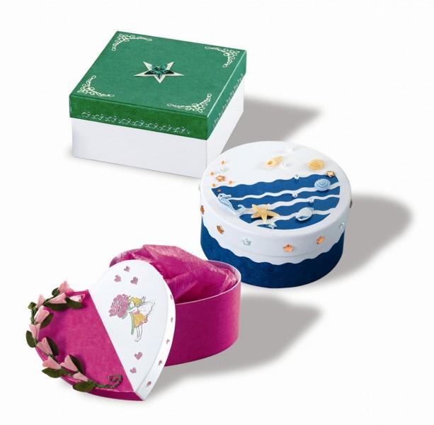 folia 3300 geschenkboxen geschenkkartons wei herz aus pappe zum basteln und gestalten 12 st ck. Black Bedroom Furniture Sets. Home Design Ideas